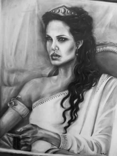 Angelina Jolie by Dmolkoholic